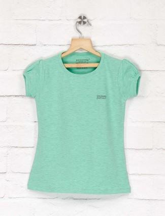 Pro Energy sea green hue girls top