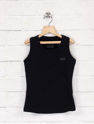 Pro Energy solid black hue top