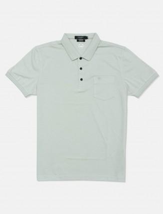 Psoulz pista solid cotton polo t-shirt