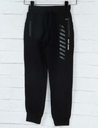 Ruff slim fit black colored payjama
