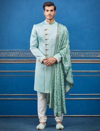 海绿色设计师棉丝质感设计印度西部
