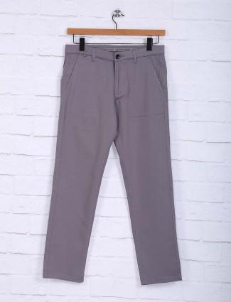 Sixth Element grey casual wear trouser