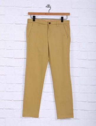 Sixth Element simple beige color trouser