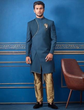 固体毛圈人造丝绿色印度西部配衬里