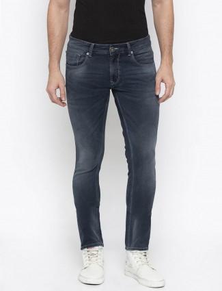Spykar skinny fit dark grey jeans