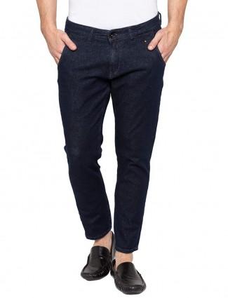 Spykar solid navy color jeans