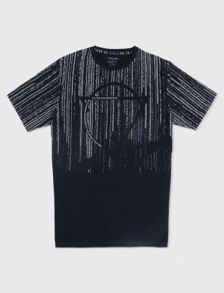 Status Quo black cotton t-shirt