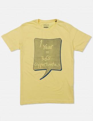 Status Quo yellow printed t-shirt