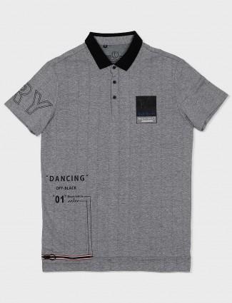 63835c5fd8 Stride grey printed casual wear t-shirt