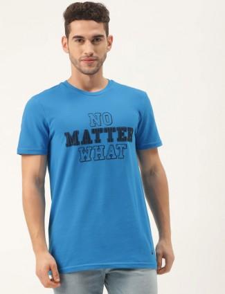 UCB blue printed t-shirt