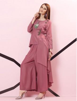 Violet designer kurti set