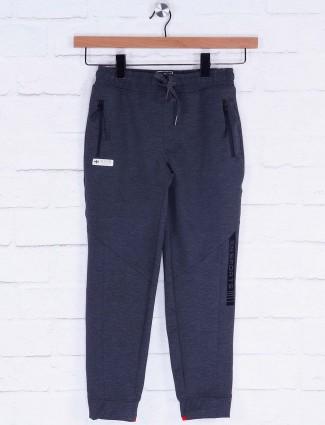 Xn Sport dark grey cotton slim fit payjama