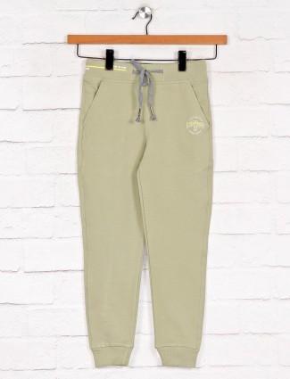 Xn Sport green color solid payjama