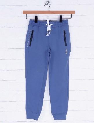 Xn Sport slim fit blue hue solid payjama