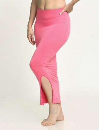 Zivame Pink Saree Shape Wear Lycra Petticoat
