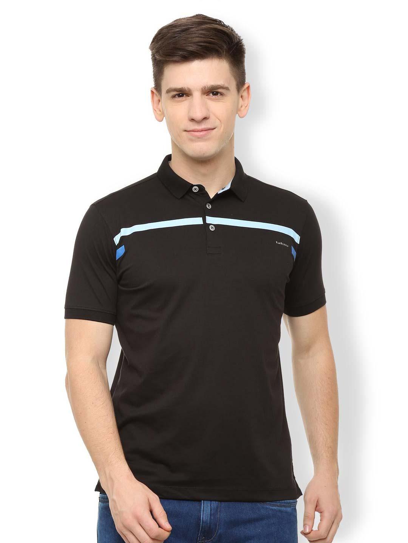 498ecf79c7 Van Heusen black cotton t-shirt - G3-MTS8580   G3fashion.com