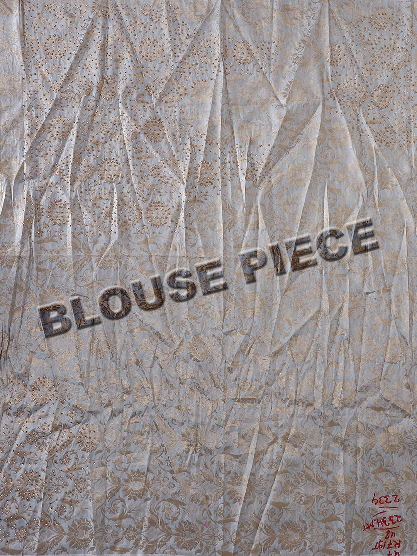 be5f134f25 White hue banarasi silk wedding lehenga choli - G3-WLC4109 ...